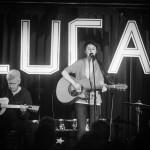 Luca Sophie Reinartz, Heinz Rebellius und Hendrik Hahler beim Release-Konzert zu Tiefseetaucher